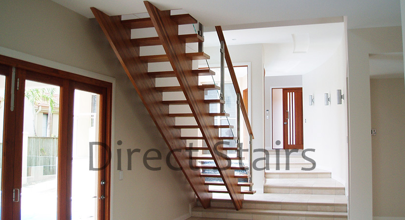 Glass panel balustrade Stairs