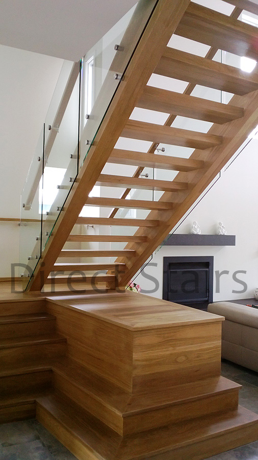 Stairs Open Riser Direct